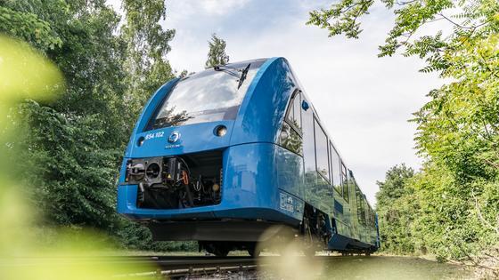 Kaçırılmaması Gereken Bir Tren: Dünyanın İlk Hidrojen Enerjisisiyle Çalışan Treni Coradia iLint!