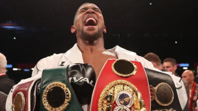 Yeni Bir Muhammed Ali, Yeni bir Mike Tyson: Boks Kemerlerinin Efendisi Anthony Jashua!