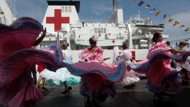 Sağlık Sistemi Çöken Venezuela'ya Çin'den Yüzen Hastane Yardımı