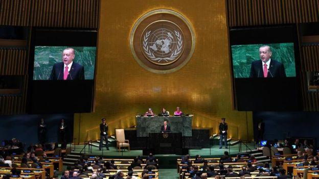 Cumhurbaşkanı Erdoğan BM Genel Kurulu'nda Konuştu: FETÖ'nün Başı Amerika'dan Dünyanın 160 Ülkesine Terör İhraç Ediyor