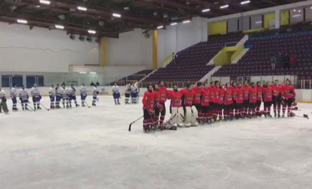Kıtalararası Buz Hokeyi Kupası'nda ''İstiklal Marşı'' Skandalı Yaşandı