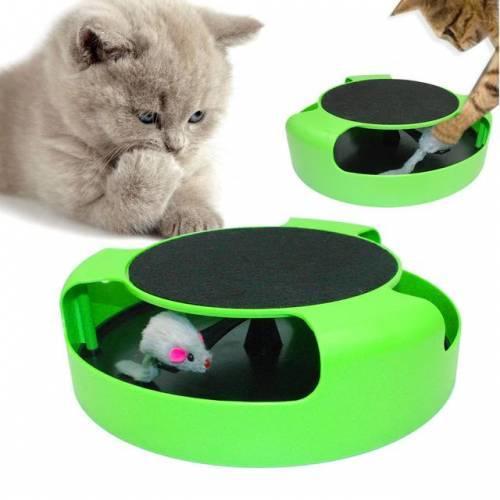 Catch The Mouse Kedi Oyuncağı Tırmalaması Fare Kovalama Yakalama Oyunu Yetişkin Yavru Kedi Oyuncağı