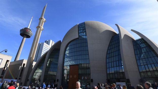 Erdoğan, Köln'de Cami Açılışına Katıldı