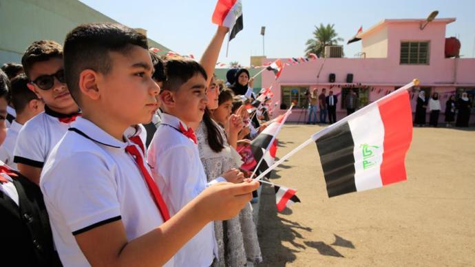 Türkçe Dersi Bağdat'ta İlkokul Müfredatına Girdi
