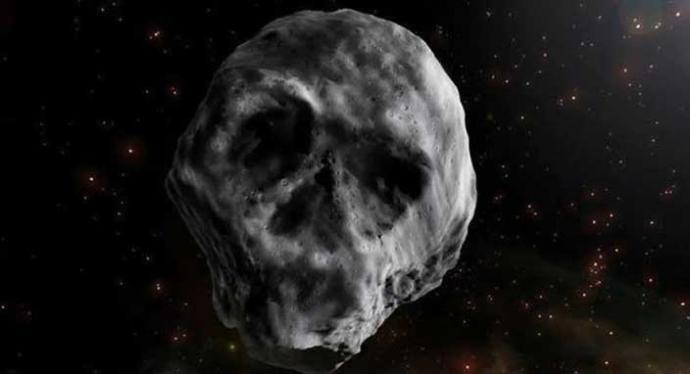 'Kurukafa Ölüm Yıldızı' Dünya'nın 38 Km Yakınından Geçecek