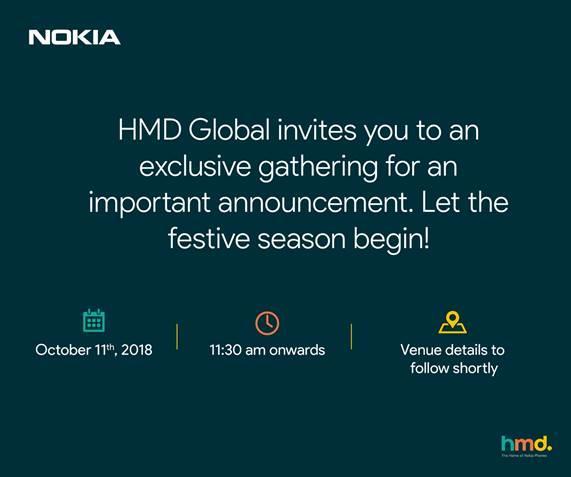 Nokia 11 Ekim'de Yeni Modelini Piyasaya Tanıtacak