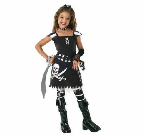 Korsan Kız Çocuk Kostümü