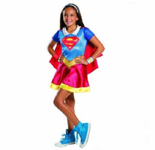 Supergirl Süper Kız Çocuk Kostümü