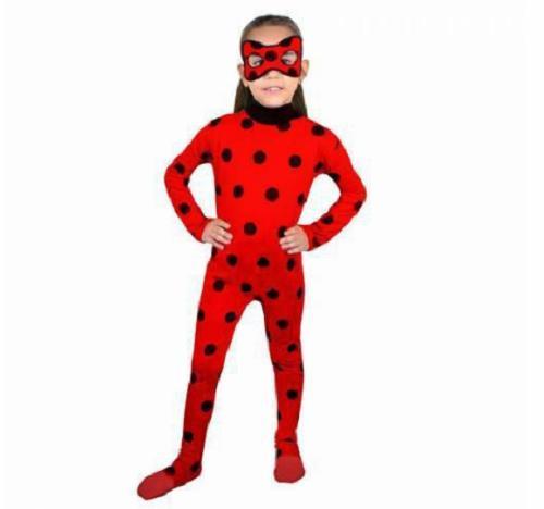 Ladybug Kız Çocuk Kostümü