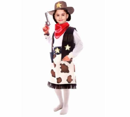 Kız Kovboy Kostümü