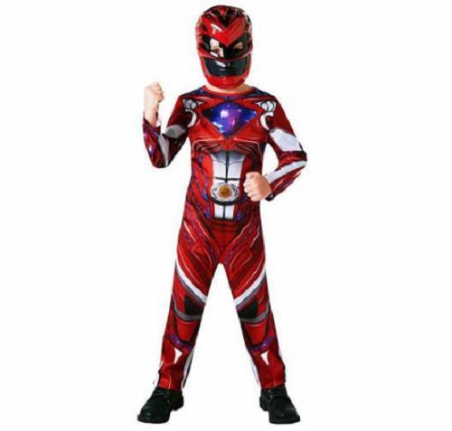 Power Rangers Erkek Çocuk Çocuk Kostümü