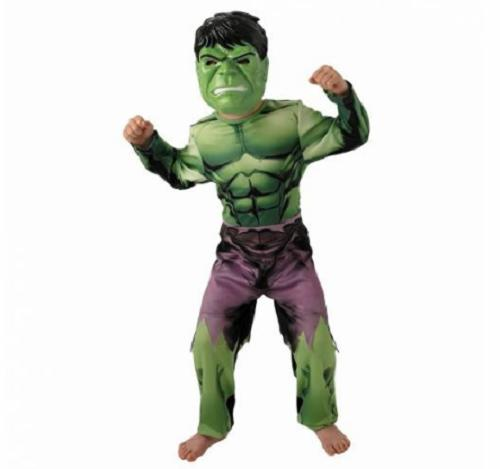 Hulk Lisanslı Erkek Çocuk Kostümü
