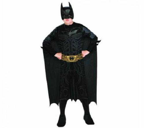 Batman Kara Şövalye Lisanslı Erkek Çocuk Kostümü