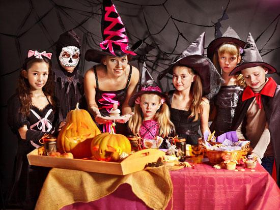 Halloween çocuk kostümleri