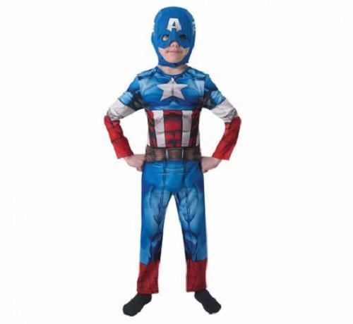 Kaptan Amerika Orijinal Erkek Çocuk Kostümü