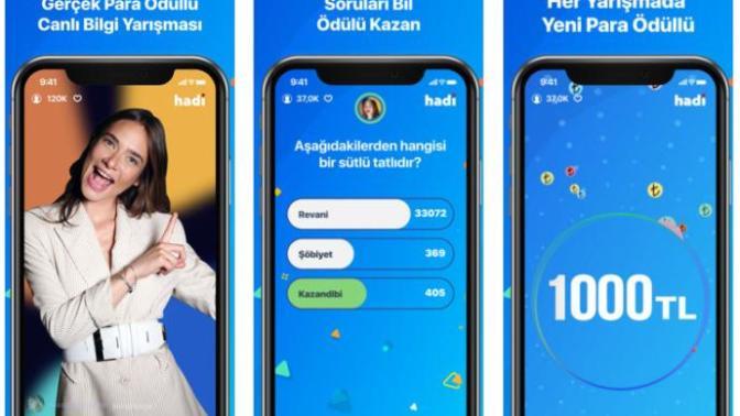 Türkiye'nin İlk Canlı, Sunuculu ve Para Ödüllü Bilgi Yarışması HADİ'yi İnceliyoruz!