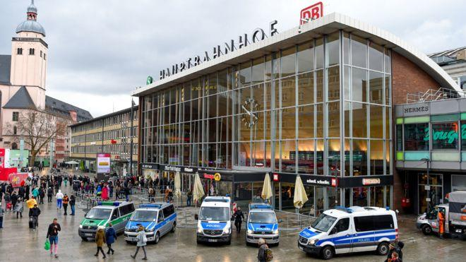 Köln'de Bir Tren Garında Rehine Krizi Yaşandı