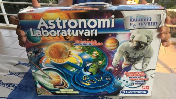 Oğlumla Astronomi Laboratuvarı'nı Sizler İçin İnceledik