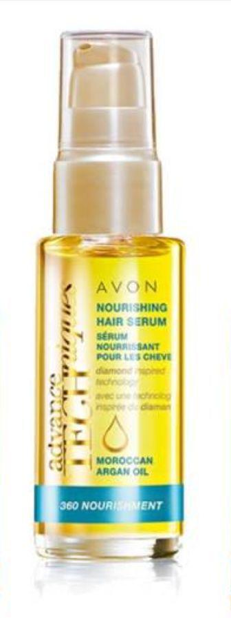 Avon Argan Yağı İçeren Besleyici Saç Serumu