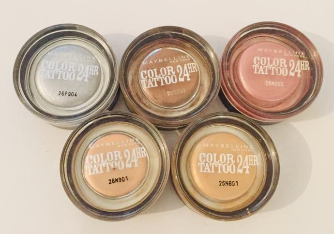 Maybelline Color Tattoo Krem Farlarım