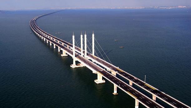Dünyanın En Uzun Köprüsü Çin'de Açıldı