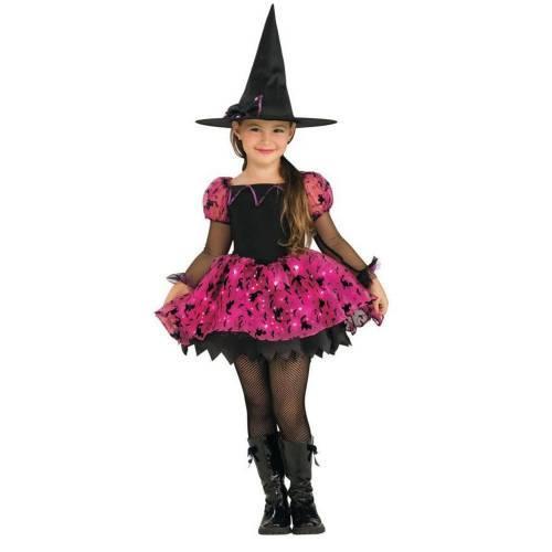 Işıklı Cadı Kostümü 3-4 Yaş