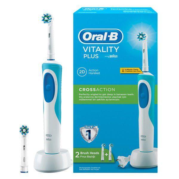 Oral-B D12 Cross Action Şarjlı Diş Fırçası