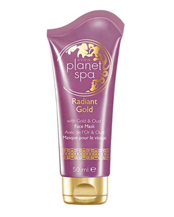 Avon Planet Spa Radiant Gold Yüz Maskesi