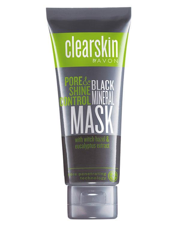 Avon Clearskin Mineralli Siyah Maske