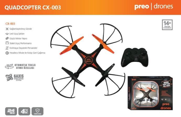 Preo CX003 Quad-Copter Drones