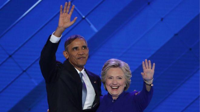 Barack Obama ve Hillary Clinton