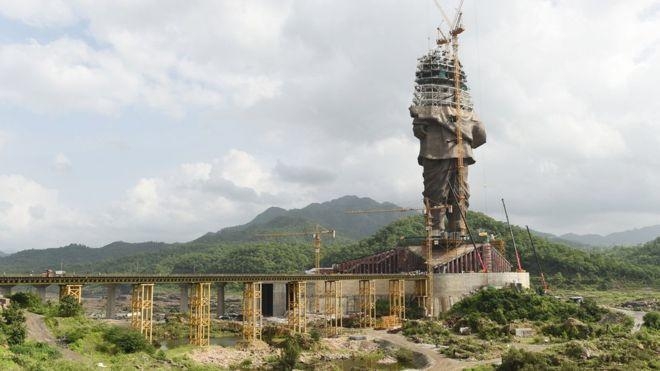 Dünyanın En Büyük Heykeli Tamamlandı