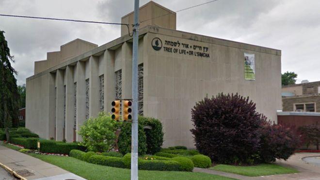 Saldırının düzenlendiği sinagog