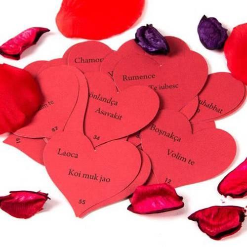 Küçük notlara yazılmış aşk sözleri