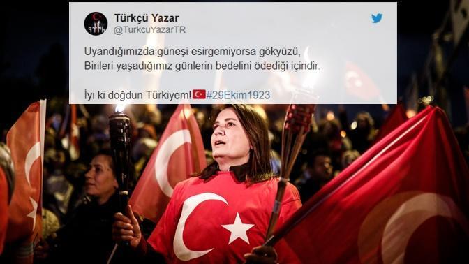 29 Ekim Cumhuriyet Bayramımız İçin Atılmış Birbirinden Güzel ve Manidar 10 Tweet!
