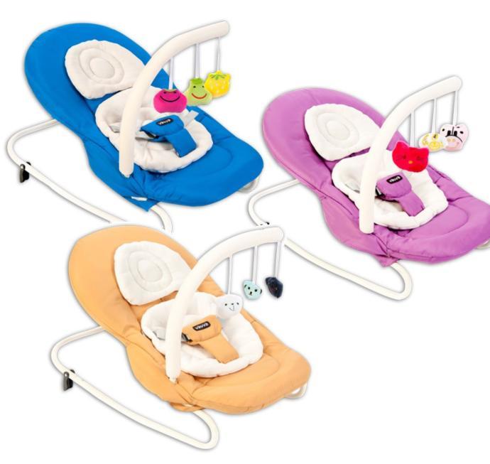Vauva Bounce Oyuncaklı Ana Kucağı 3 Renk