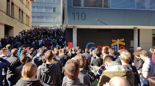 Google Çalışanları, Tacize Karşı Sokaklara Döküldü