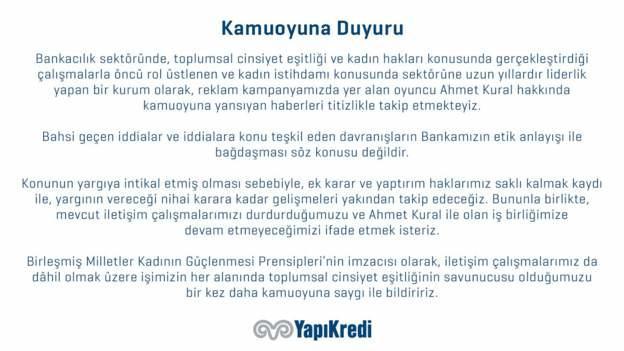Ahmet Kural Tüm Kadınlardan Özür Diledi