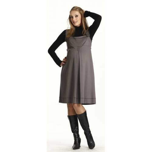 Siyah Renk Hamile Jile - Kışlık Giyim
