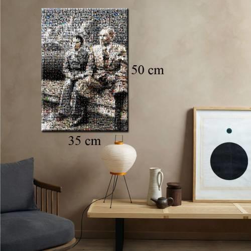 Mustafa Kemal ve Sabiha Gökçen'in birlikte olduğu bu tablo çok değerli
