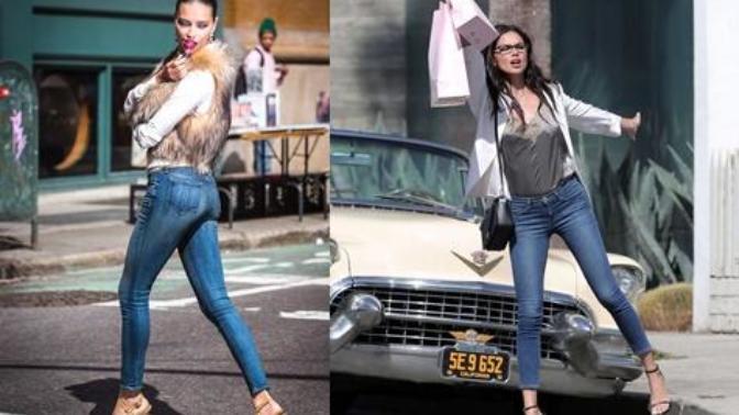 ''Jean Pantolonla Şıklığı Nasıl Yakalarım?'' Sorusuna Yanıt Olarak Adriana Lima'nın Stilini İnceliyorum!