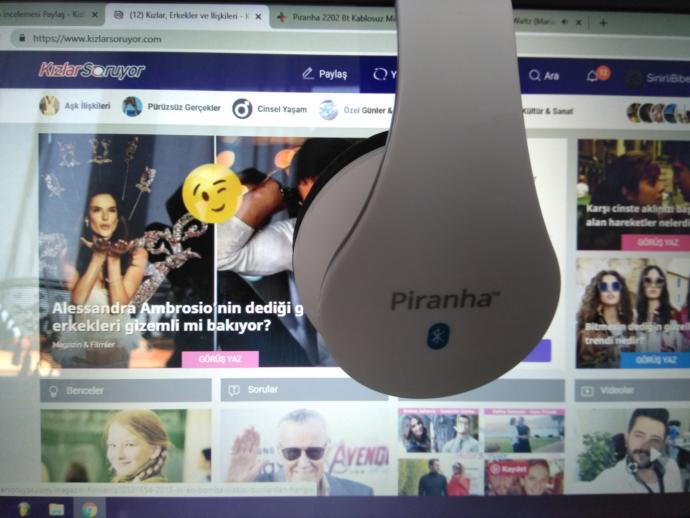 Piranha 2202BT Kablosuz Bluetooth Kulaklık
