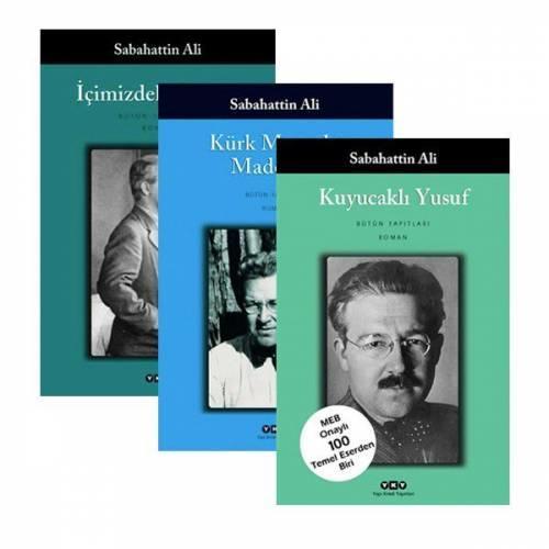 Sabahattin Ali 3'lü kitap seti