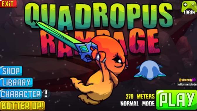 Aylardır Sıkılmadığım Tek Mobil Oyun: Quadropus Rampage