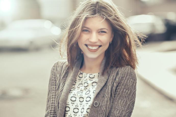 Mükemmel bir gülüş her şeyin anahtarı.