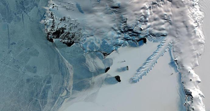 Antarktika Buzulları Altında Gizemli Bir Enerji Kaynağı Bulundu