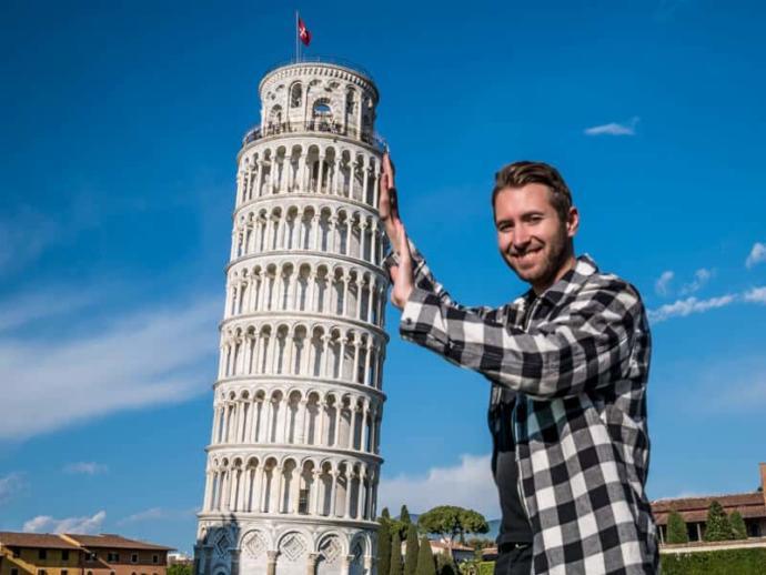 Pisa Kulesinin Eğriliği Her Geçen Yıl Azalıyor