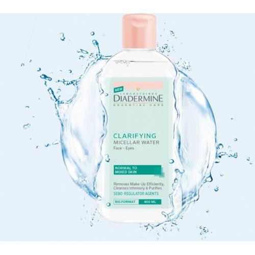 Diadermıne Arındırıcı Yüz ve Göz Makyaj Temizleme Suyu 400 ml