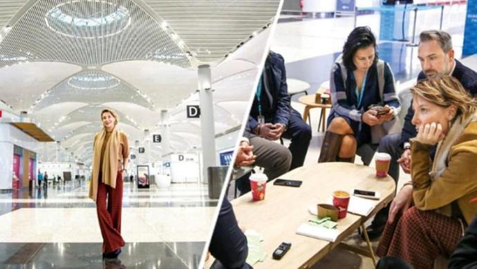 Gülse Birsel: Yeni Havalimanını Teftiş Ettim, 'Seneye Açılsa Ölür müydük?' Dedim, Kikirdediler