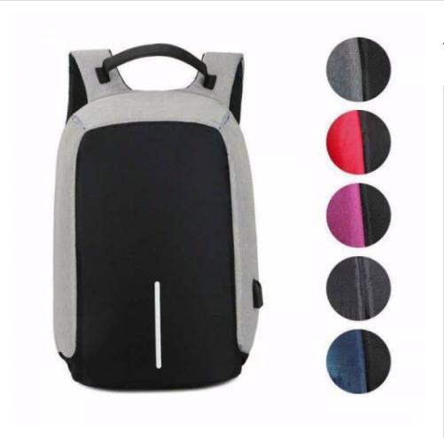 USB Şarjlı ve Gizli Fermuarlı Akıllı Sırt Çantası (5 Renk Seçeneği)